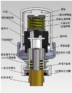 暖气温控阀接线图