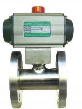 WR-50100偏心部分球面型控制阀图片
